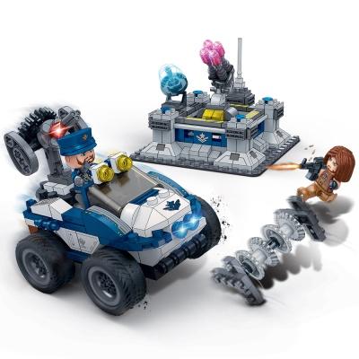[3D퍼즐마을][반바오] BO6255 센트리 건-풀백 모터