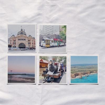 메리필름 호주 멜버른 미니 여행 엽서 set(5장)