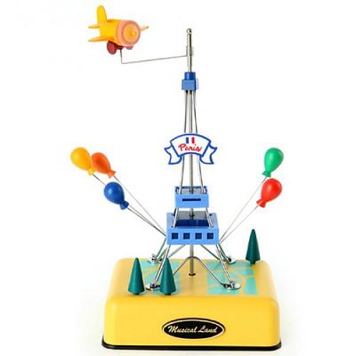 New 에펠탑 오르골(옐로우)