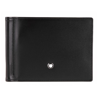 몽블랑 MEISTERSTUCK WALLET 6CC WITH MONEY CLIP (5525)