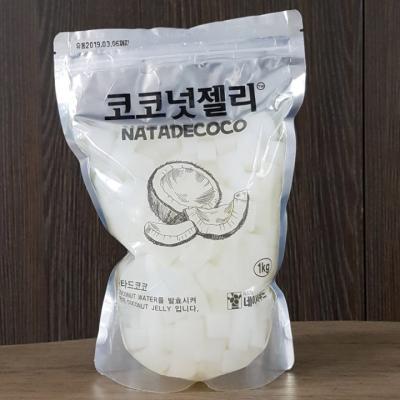 [대용량] 코코넛젤리 500g 15mm(빙수용)