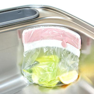 싱크대 위생 밀폐음식물 봉투홀더 일본아이디어