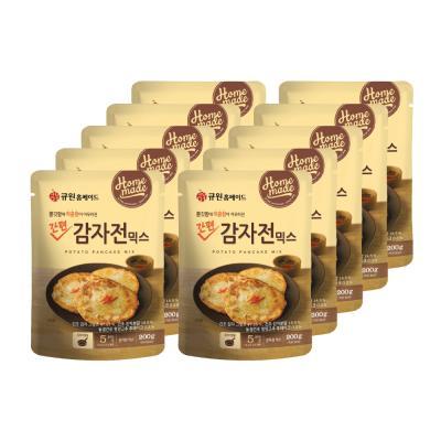 (박스특가) 큐원 감자전믹스 200g 10개 (프라이팬용)