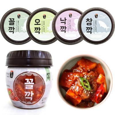 [HACCP] 한옹 꼴깍(꼴뚜기&깍두기)400g (4개)