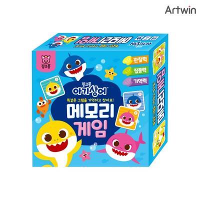 핑크퐁 아기상어 메모리게임 / 5세이상, 2-4인