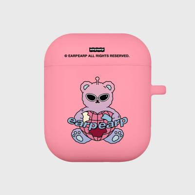 Space night bear-pink(Air pods)