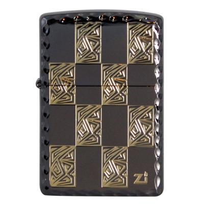 ZIPPO 라이터 250-18 BLOCK 2(BLACK)®