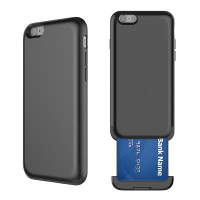 아이폰7+/8+ 카드슬롯 프로텍션 - 매트블랙