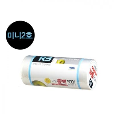 [코멕스산업] (R3) 위생롤백 미니2호 (500매) 402310