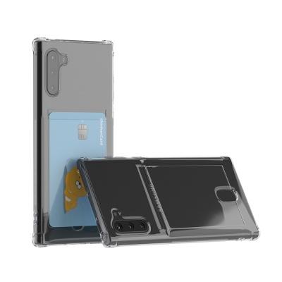 갤럭시 노트10 아이스핏 에드온 TPU 카드 케이스
