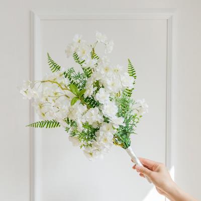 화이트블라썸 벚꽃부케
