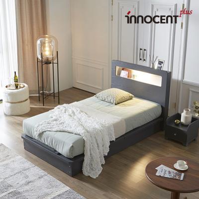 [이노센트] 리브 베리나 LED 평상형 침대 SS