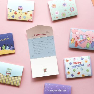 미니 폴딩 카드 (젤리베어) 01-04