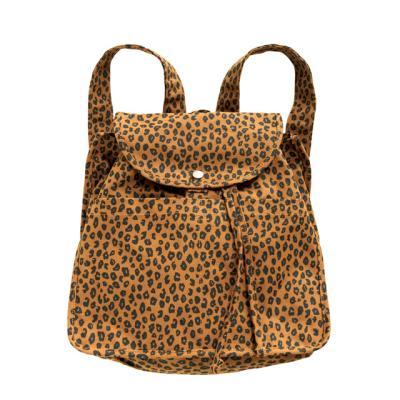 [바쿠백] 드로스트링 백팩 Nutmeg Leopard (New)