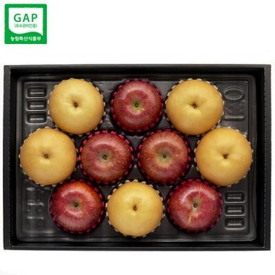 [GAP인증] 자연담음 사과,배 혼합 세트/5.4kg