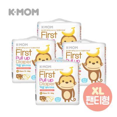 케이맘 처음 팬티기저귀(특대형) 4팩