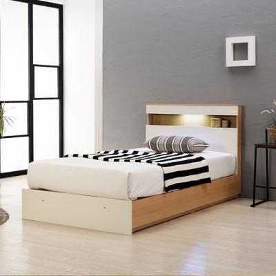 통판형 LED 슈퍼싱글 침대프레임 원목 코나A