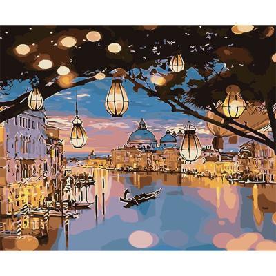 아이엠미니 DIY 별빛 명화그리기 40x50_등불과 도시
