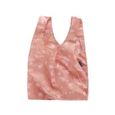 [바쿠백] 장바구니 시장가방 Floral Sun Print Pink