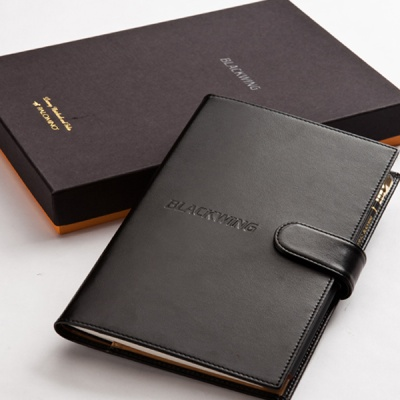 블랙윙 notebook and folio