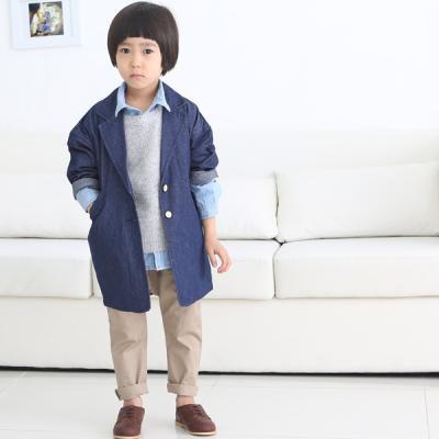 [아이]미니멀루즈청자켓