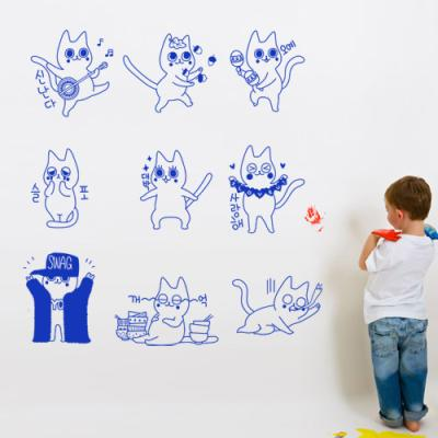 tg051-귀여운고양이캐릭터모음_그래픽스티커