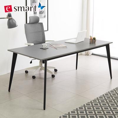 [e스마트] 철제 책상테이블 1600x800 디자인프레임