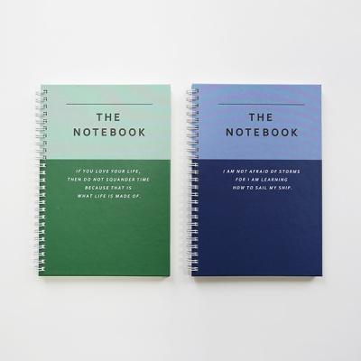 THE NOTE BOOK 인덱스 하드 스프링노트 A5