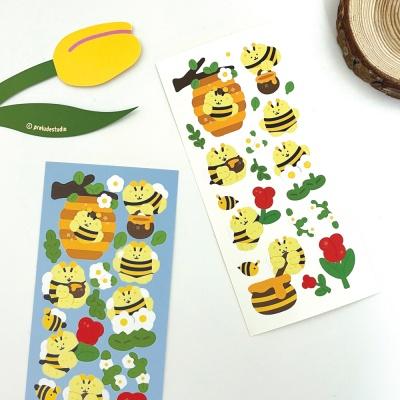꿀벌트루디 씰스티커