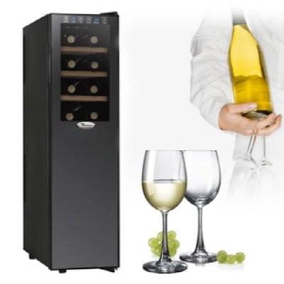 [월풀]정품 와인셀러 HBD181WO 18병 55리터 와인을 위한 가장 이상적인 환경