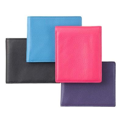 [천연송아지가죽] 지갑 슬림형 윈도우 4 Color