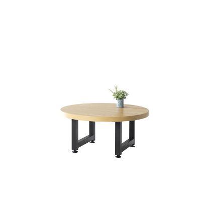 몽랑 스틸 원형 쇼파 테이블 700