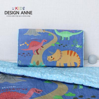 [디자인엔] 알러지케어 해피다이노 아동메모리폼베개