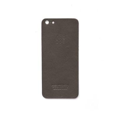 503 아이폰 5/5S 가죽 스킨 (charcoal)