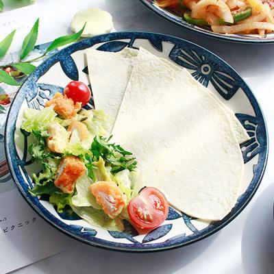 아이카 빈티지 블루 플라워 접시(16cm) 1p