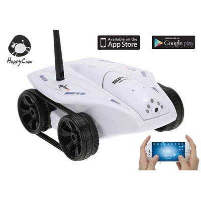 Wi-Fi 원격제어 아이테크 스파이 탱크 (HCOW672826WH)