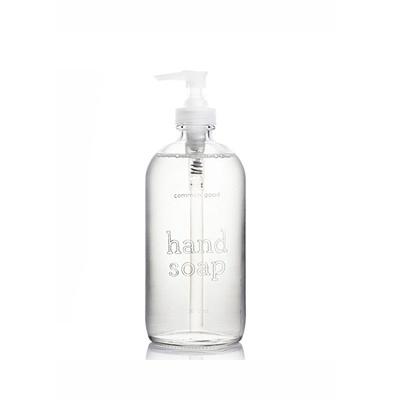 Hand Soap Glass Bottle 473ml