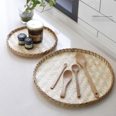[2HOT] 대나무 원형 채반 대