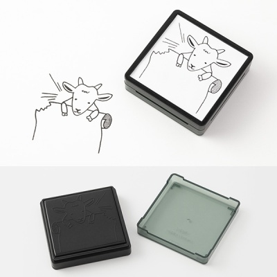 Paintable Stamp v.2 Daily Life - Goat