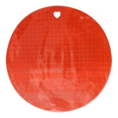 레보 실리콘 냄비받침 원형(색상랜덤)