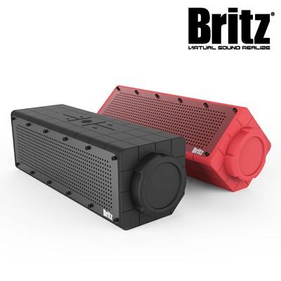 브리츠 휴대용 블루투스4.0 스피커 BZ-D100 Surfing (통화가능 마이크내장 / 완벽 방수 / MP3 & 스마트폰폰 등 외부연결 AUX 단자)