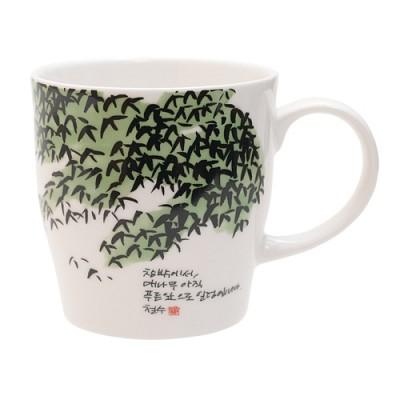 [퍼니피쉬] 이철수 엽서머그 - 대나무