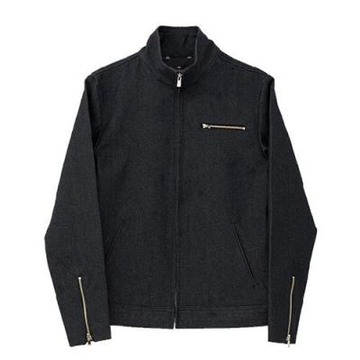 [게타] Getta Denim rider jacket (black)