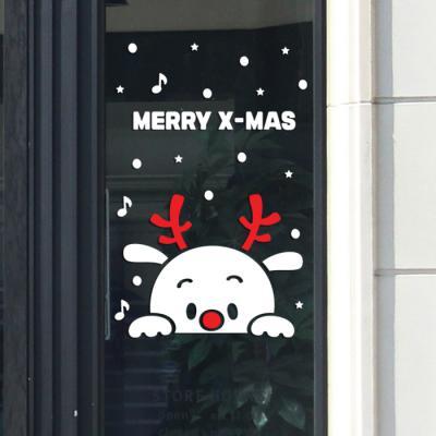 제제데코 크리스마스 눈꽃 스티커 장식 CMS4J129