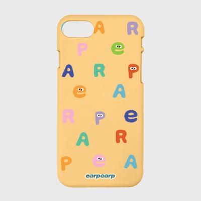 Earp Alphabet-yellow(color jelly)