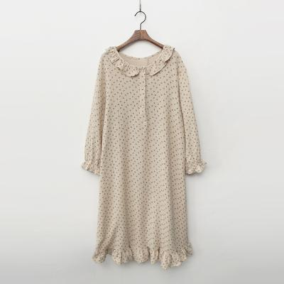 Flower Sleepwear Dress