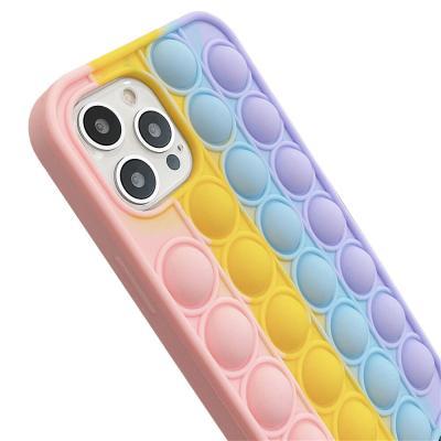 P613 갤럭시노트10 5G 팝잇 뽁뽁이 실리콘 케이스