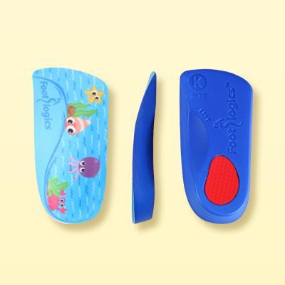 풋로직스 키즈 어린이깔창 기능성 평발 3/4사이즈