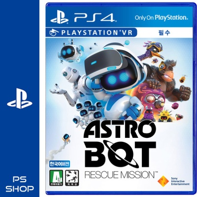 PS4 아스트로봇 레스큐 미션 한글판 [VR필수]