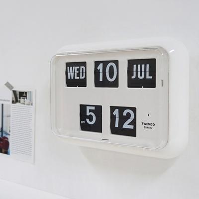 데코앤홈 트웸코 QD-35 인테리어 플립 탁상 벽시계